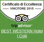 Hotel i Colli excellent hotel in Macerata according Tripadvisor